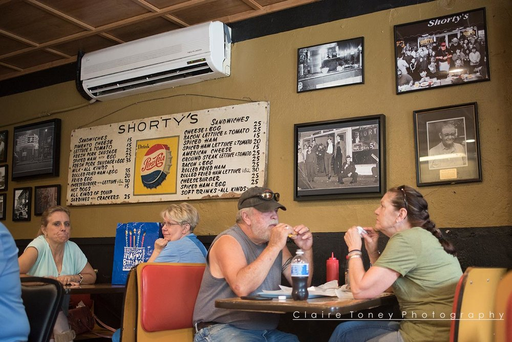 Inside Shorty's, Wake Forest NC