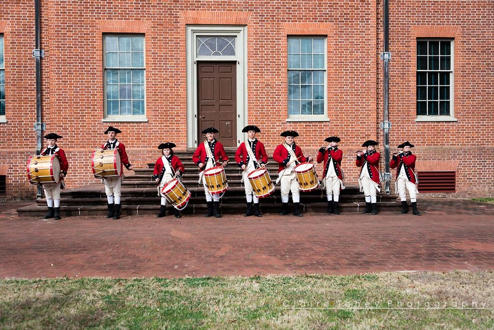Tryon Palace, New Bern NC Free Day Fife and Drummers