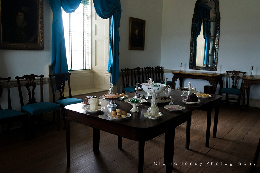 Dining Room, Tryon Palace, New Bern NC