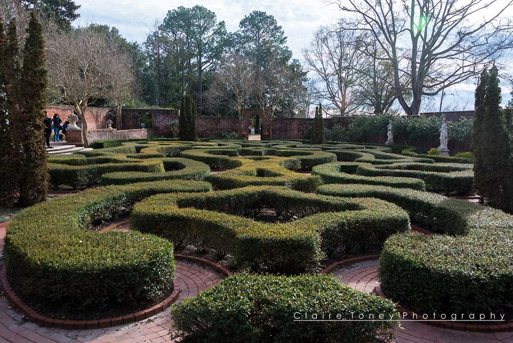 Tryon Palace Garden, New Bern NC