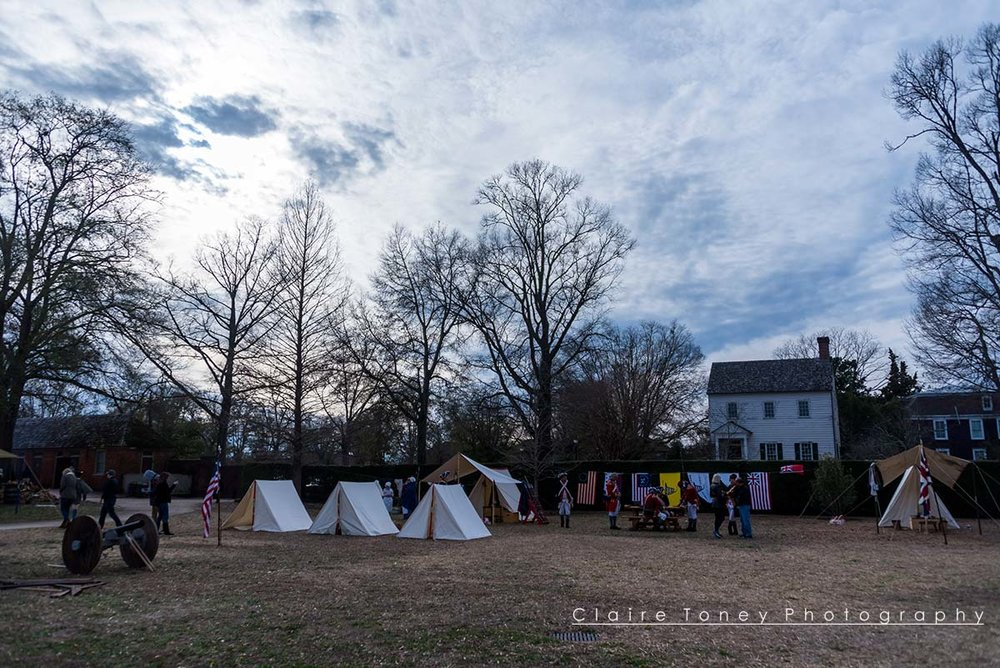 Imagining what New Bern may have looked like during the Civil War and colonial period, Tryon Palace, New Bern NC