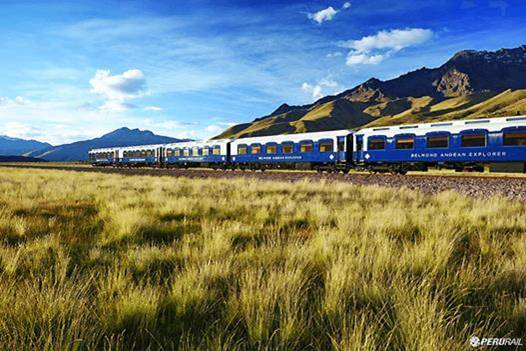 The Andes    Luxurious Sleeper Train in the Andes