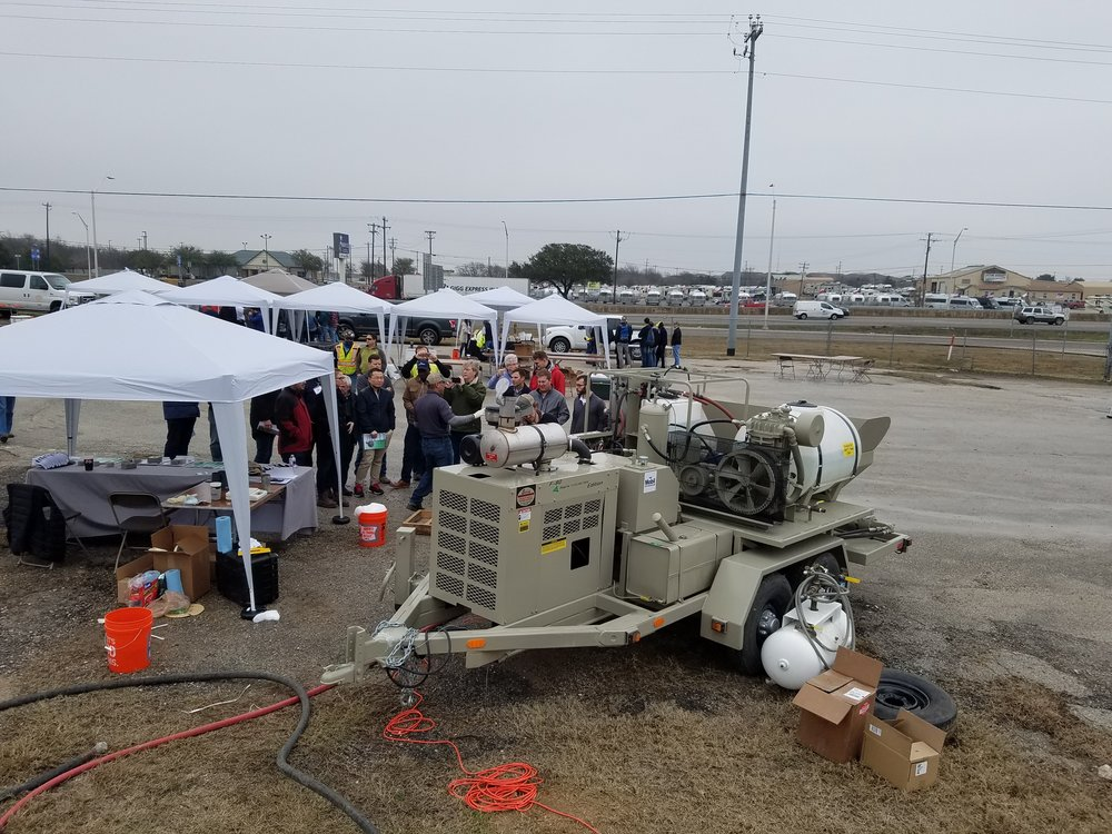 2018 Texas University-Grouting and Cellular Concrete Pump Convention