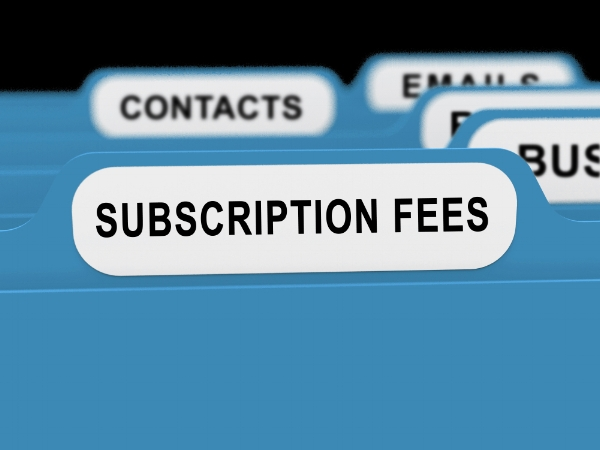 Subscription Charges