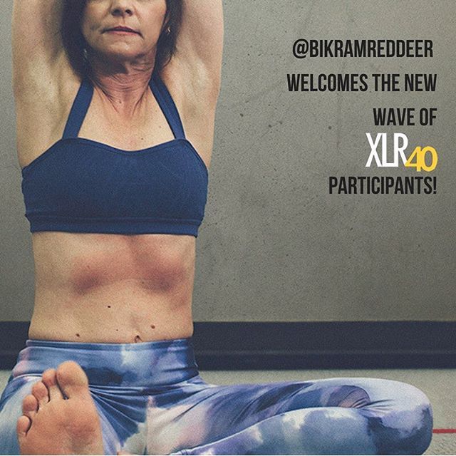 Big 👏👏👏 for the first ever summer round of #xlr40 @purereddeer Be sure to come down to @bikramreddeer at least once a week (if not more!) to give your bod a chance to recover and stretch out any stiffness and soreness. Warning ⚠️ post yoga feeling may be highly addictive and or make your other workouts better! #byrd #reddeer