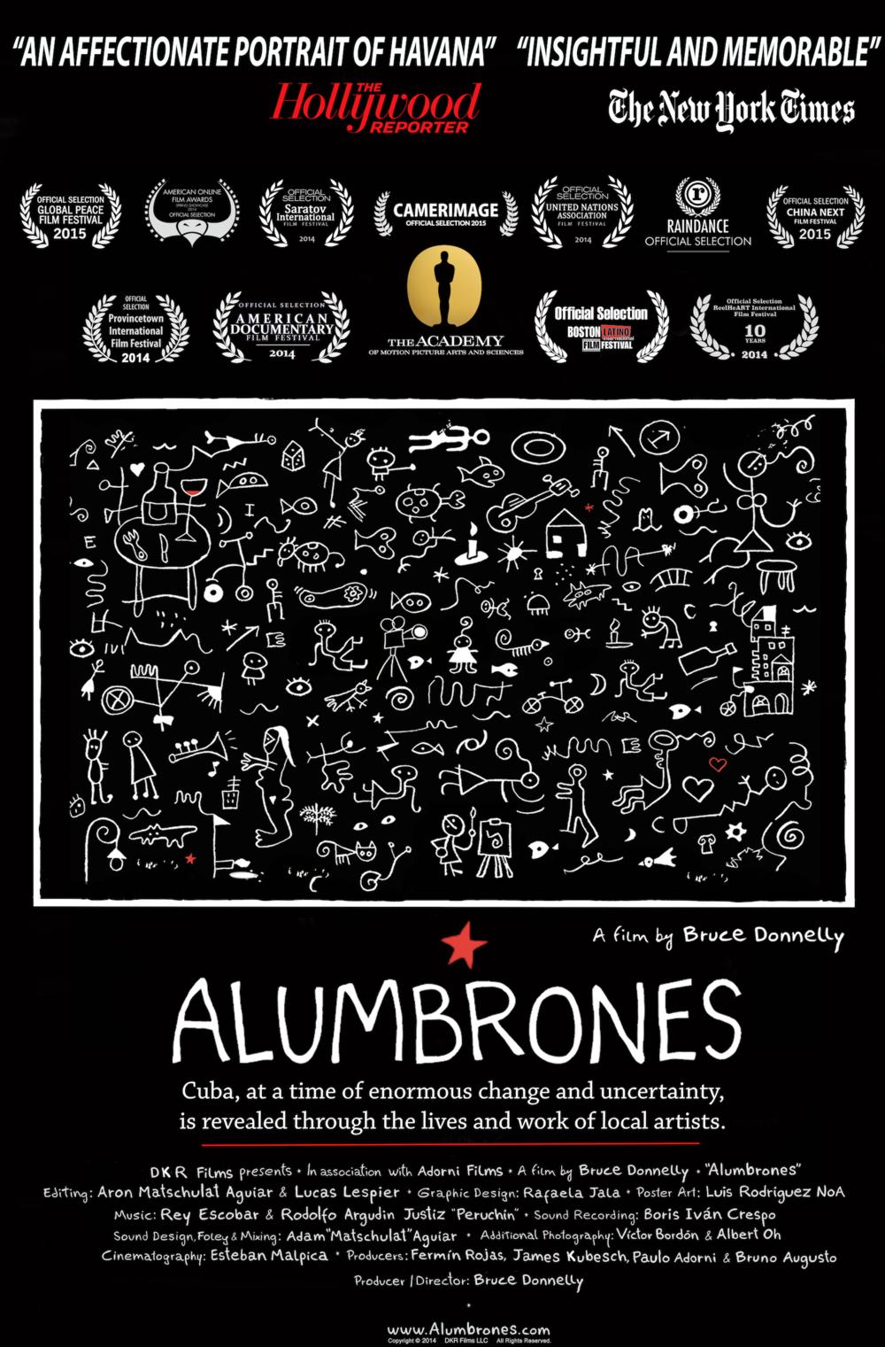 ALUMBRONES - FILM POSTER