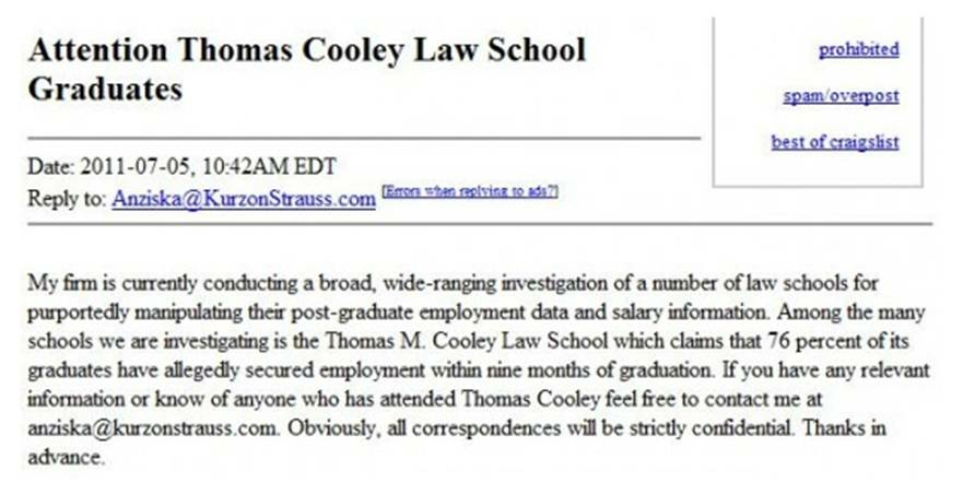 Cooley ad