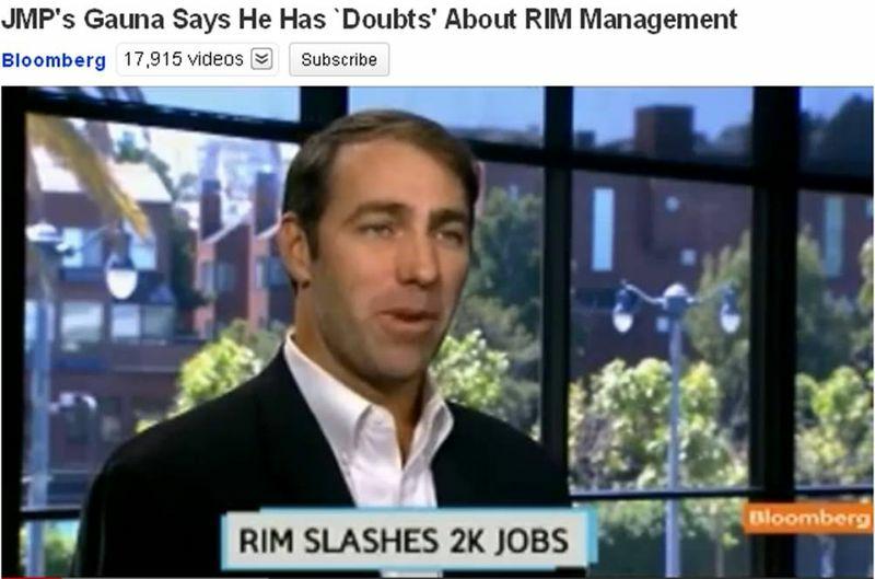 RIM layoffs