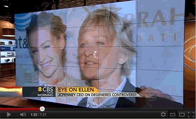 Ellen and JCPenney