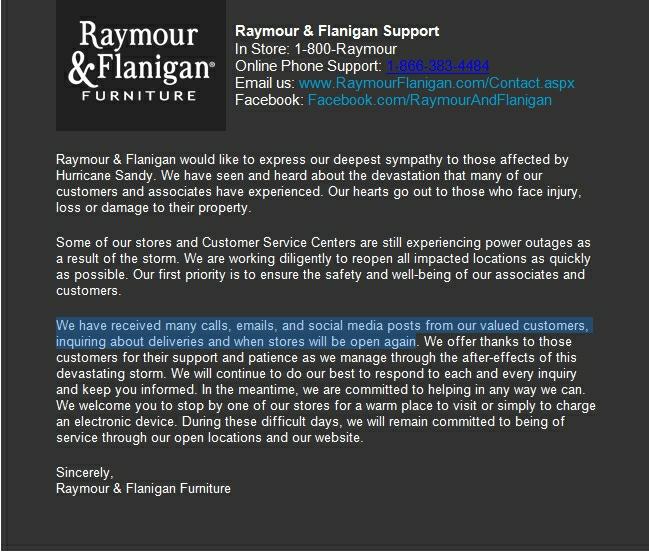 Raymour - Sandy