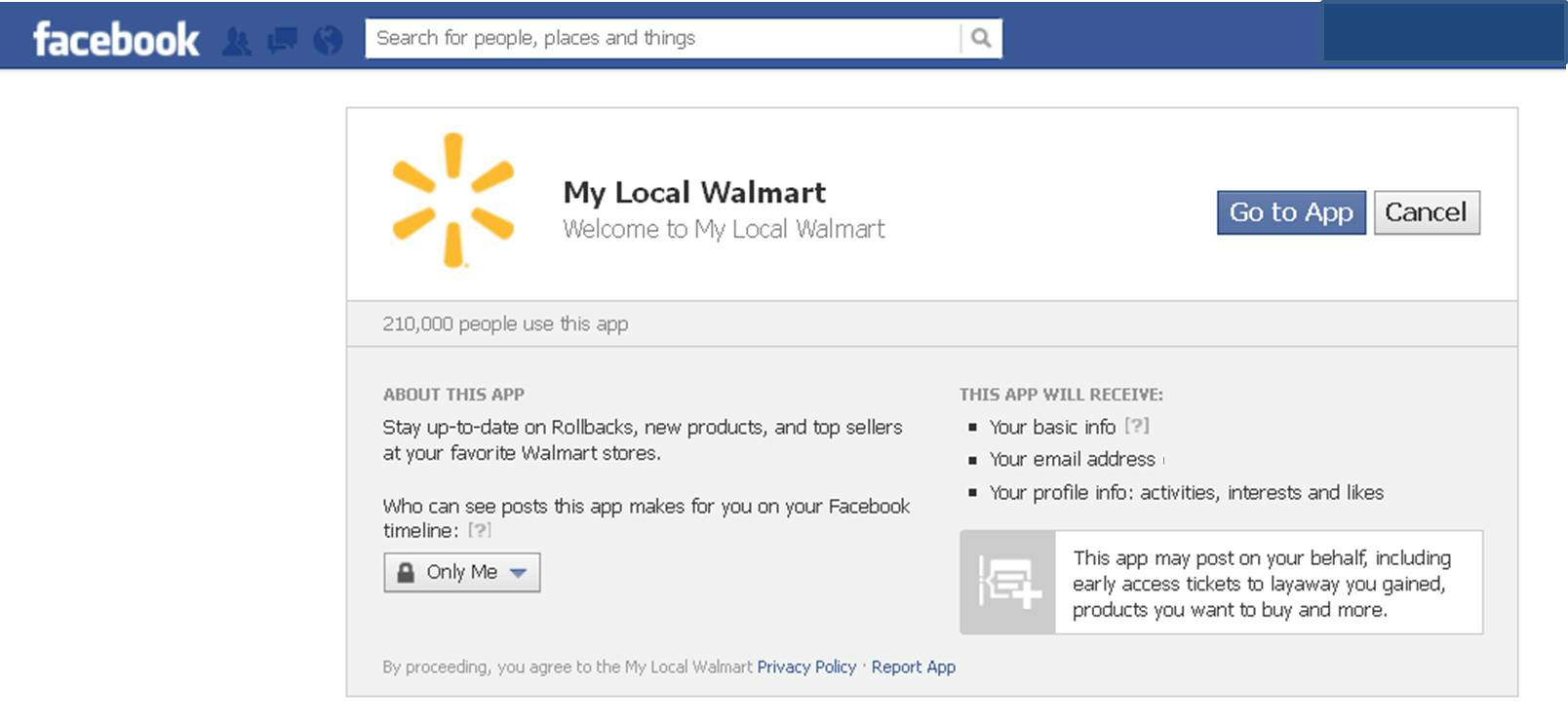 Leadership Character and Communication - Walmart's Local Facebook