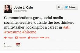 WSJ Job tweet