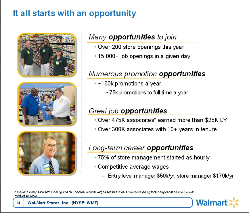 Walmart GS presentation