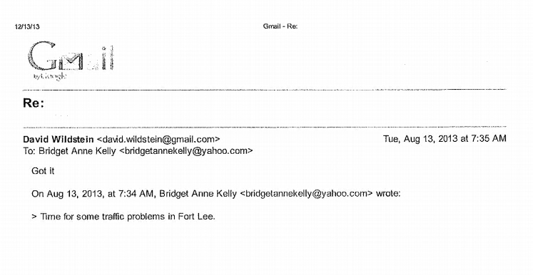 Christie emails