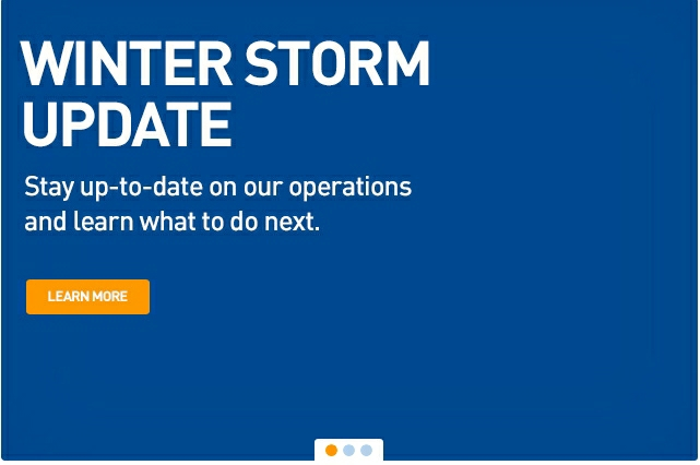 JetBlue Winter Storm