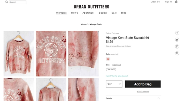 Urban Outfitters Kent