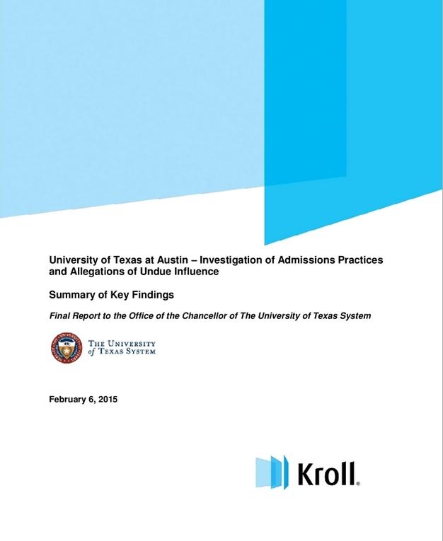 Kroll UT report image