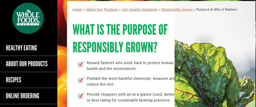 Whole Foods Organic