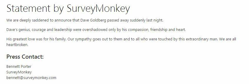 Goldberg Survey Monkey