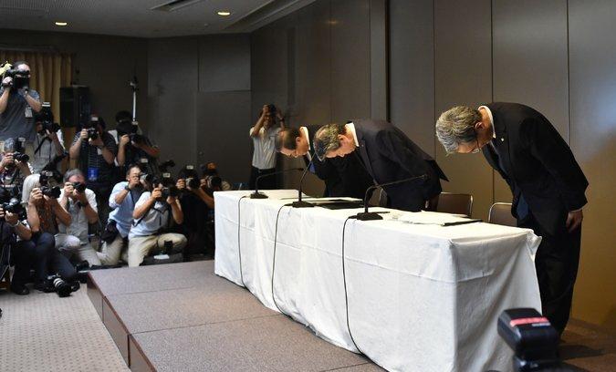Toshiba resignations