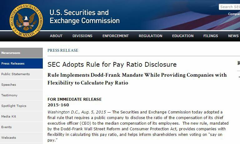 SEC Press Release