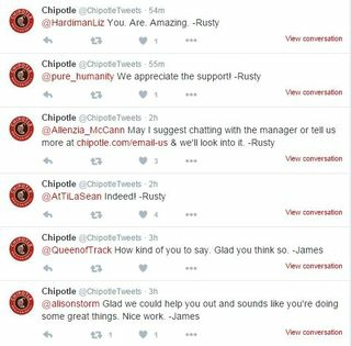 Chipotle Twitter