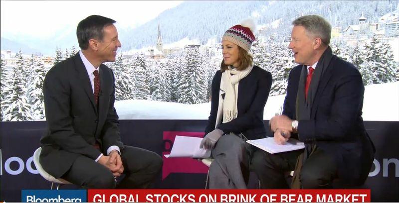 Marriott CEO Davos