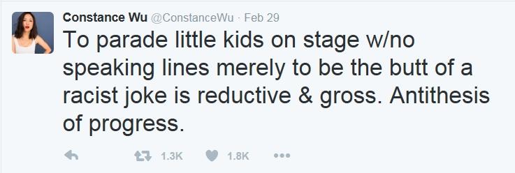 Constance Wu tweet