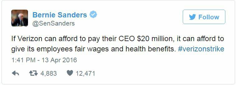 Verizon Bernie