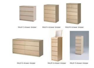 Ikea dressers