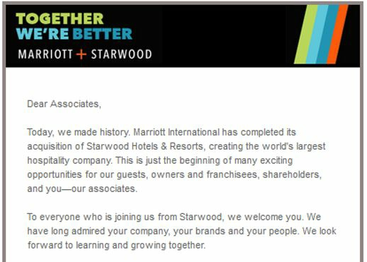 Marriott + Starwood