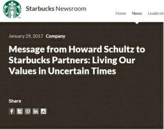 Starbucks response
