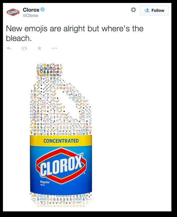 CloroxBleachTweetOriginal