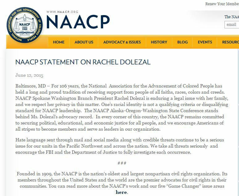 NAACP statement