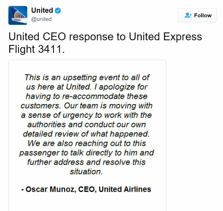 United CEO