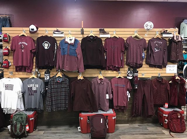 We want to help you rep the 12th man in style this #maroonout! All of our maroon gear is 12% off this week only.👍🏼 #thanksandgigem #12thman #tamu