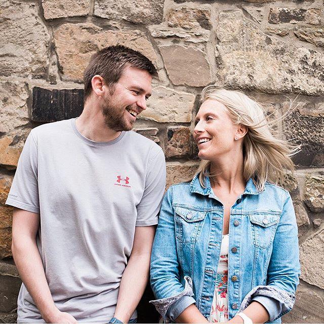 Edinburgh engagement session 💍