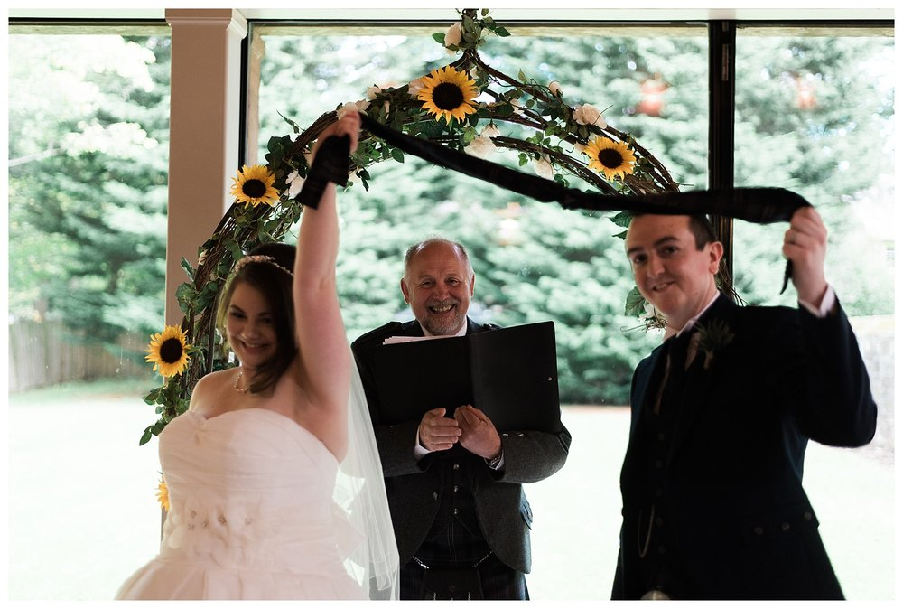 Carberry Tower Wedding by Edinburgh Wedding Photographer