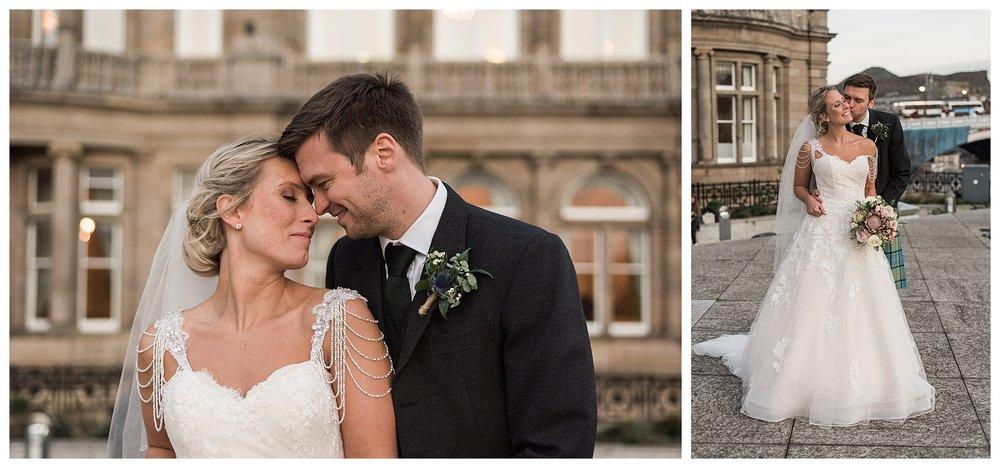 The Balmoral Hotel Wedding Photographer Edinburgh