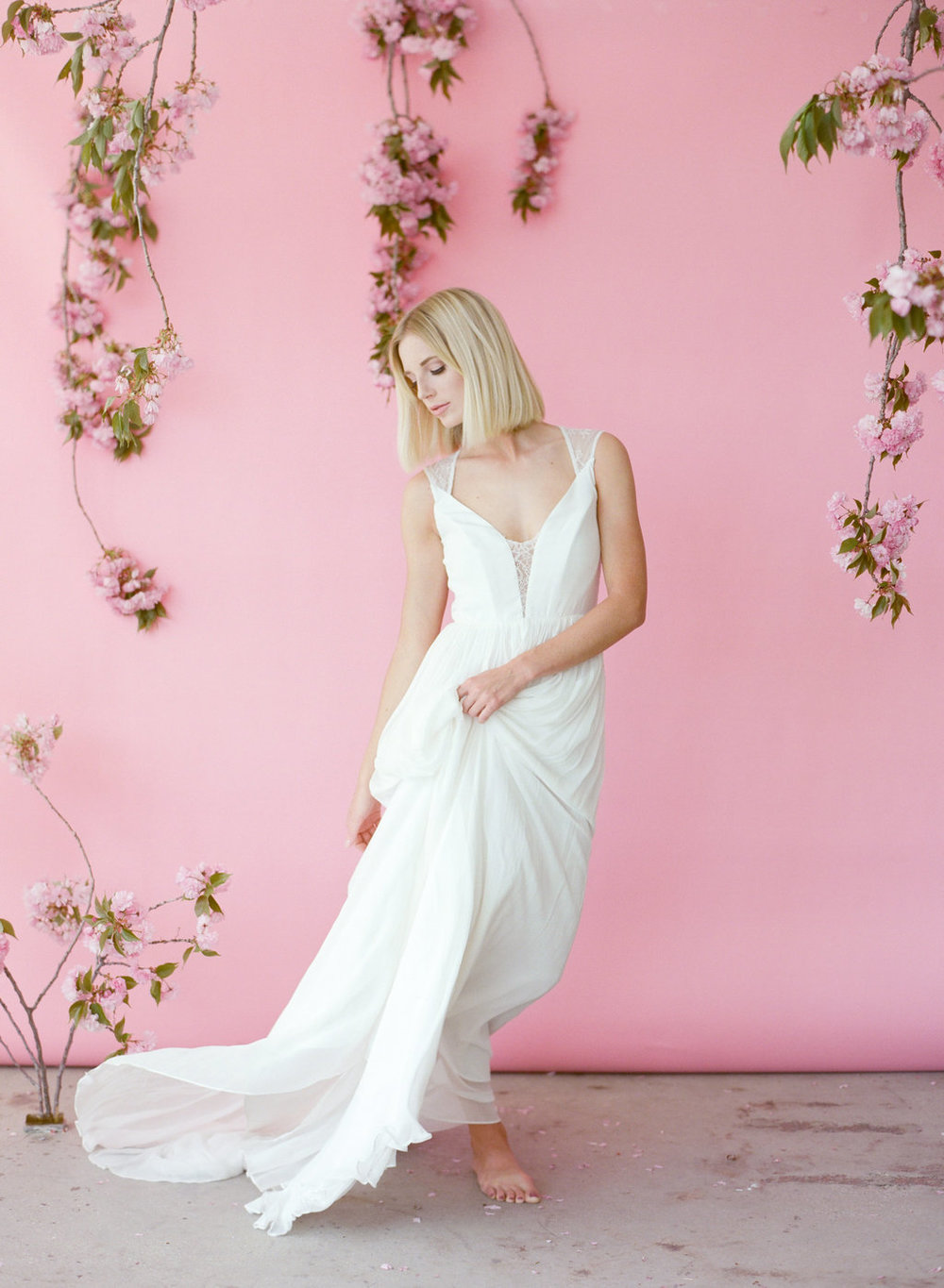 Leanne Marshall Wedding Dress - Heather Nan Photography