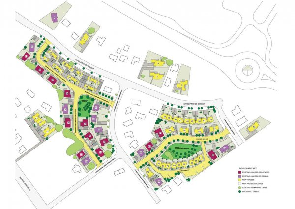 SUBDIVISION CONSENT PROCESSING (FEE SIMPLE & UNIT TITLE) FOR HOUSING NEW ZEALAND'S ERNIE PINCHES REDEVELOPMENT, MT ROSKILL