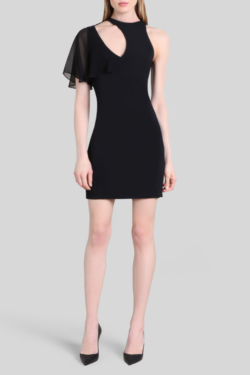 Cushnie Black Xandra Mini Dress / Recleau