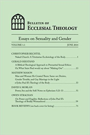 volume essays on sexuality and gender the center for pastor  in 2014 the fellows of the cpt led by dr peter leithart of the theopolis institute responded to john paul ii s teaching on the meaning of the human body