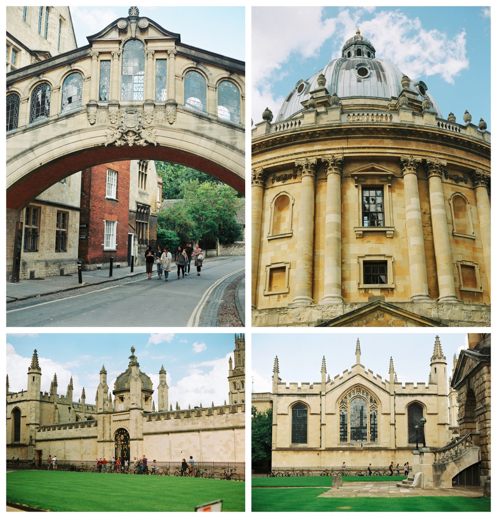 Do not stop at London, Oxford could be a wonderful setting for your portrait photo shoot!