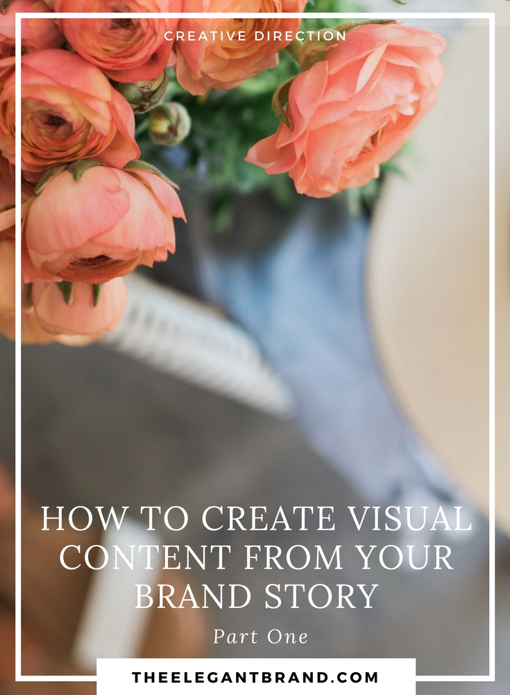 How to create visual content from your brand story