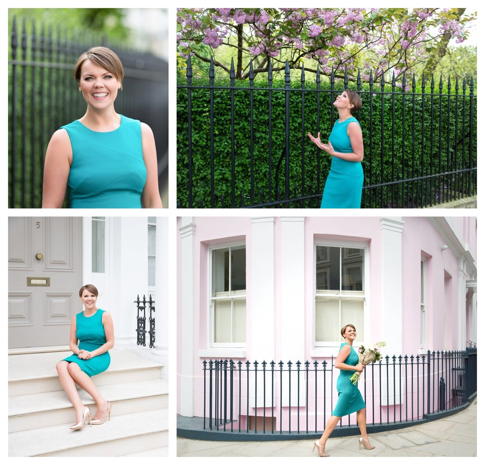 A brand story photoshoot set in elegant London