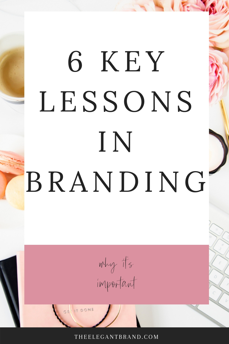 The key lessons in branding and why it's important