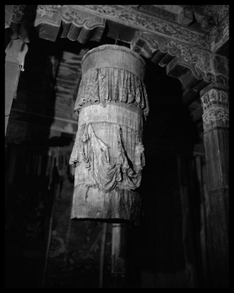 Linda Connor, BANNER, HEMIS MONESTERY, LADAKH, INDIA, 1998
