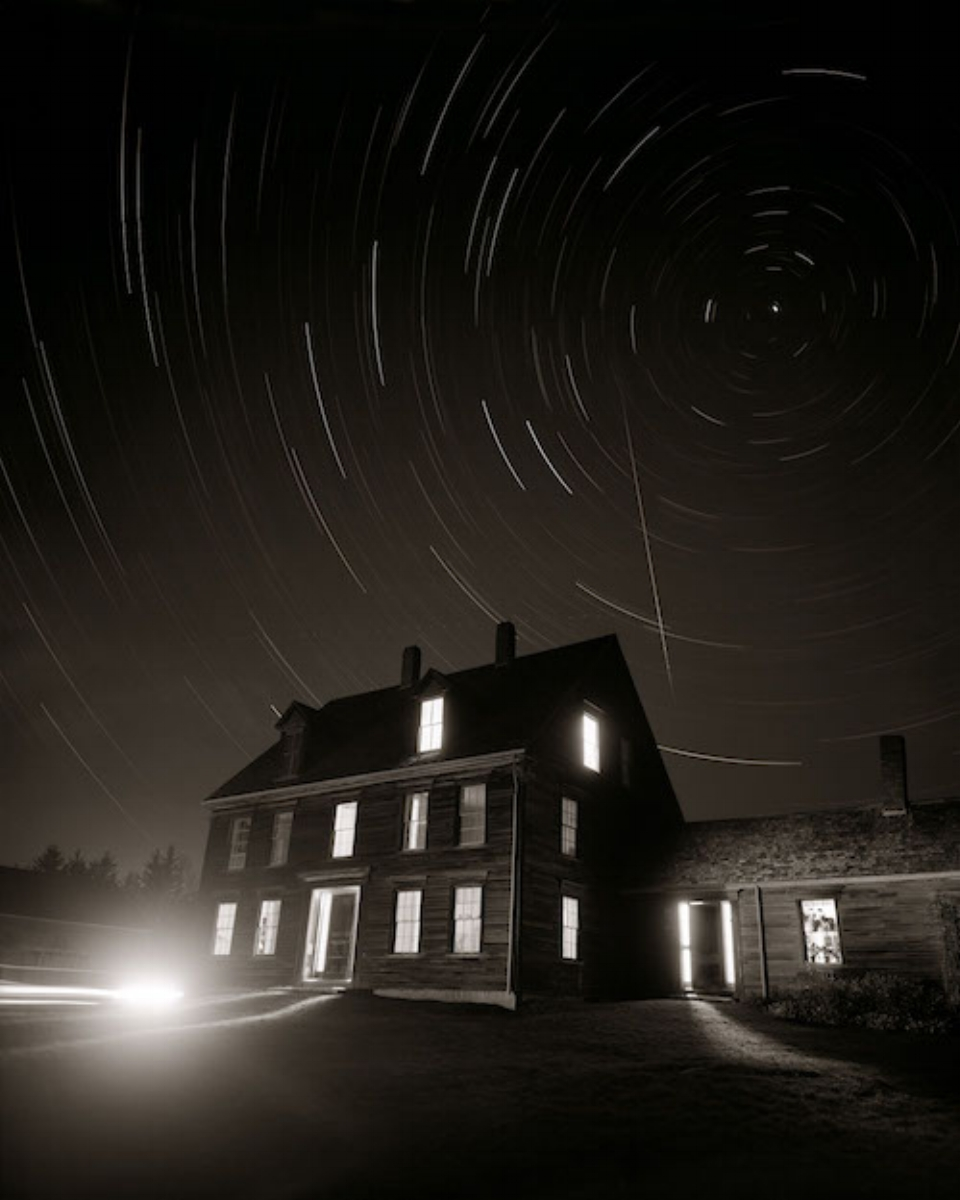"Linda Connor, NORTH STAR AND METEOR, 2006, archival pigment print, 30"" x 24"" ed: 15"