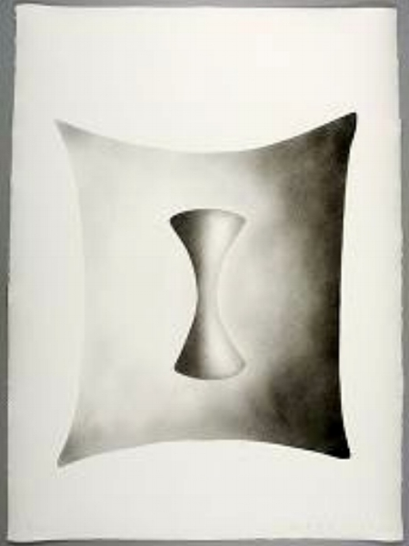 "James Nares, DREAM SUITE, 1990, four of five pochoir prints, 30"" x 22"" ed: 10"
